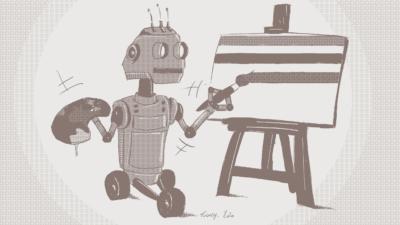 Un robot peintre